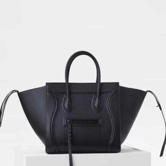 aeabdcee2 Celine Bags | Medium Luggage Phantom Bag In Supple Calfskin | Poshmark